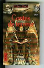 CONTES DE TERROR by Robert Bloch rare French Pocket #9126 horror pulp vintage pb