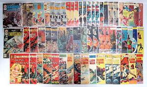 Lot 62 Charlton Comics Bionic Woman Doomsday Bullseye 1st Thunderbunny 1973-1982
