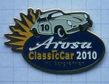 PORSCHE 356 / AROSA SCHWEIZ CLASSIC CAR 2010 INT. BERGRENNEN .. Auto-Pin (112e)