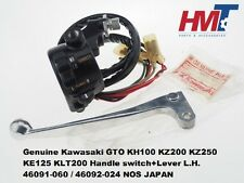 Kawasaki GTO KH100 KZ200 KZ250 KE125 KLT200 Handle switch+Lever Left 46091-060