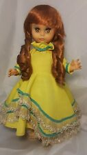 """Uneeda Doll 1963 Rooted Red Hair 15"""" Tall"""