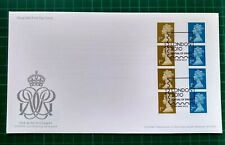 2010 1st & 2nd Class Machin Gummed Security Coil Strips of 4 FDC MA10 MRIL