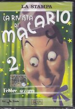 Dvd «LA RIVISTA DI MACARIO N° 2 ~ FEBBRE AZZURRA» Rai Trade nuovo