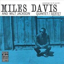 Miles Davis and Milt Jackson Quintet/Sextet by Miles Davis/Milt Jackson (CD,...