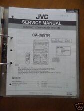 Manual de servicio JVC CA-D85 Sistema de alta fidelidad,ORIGINAL