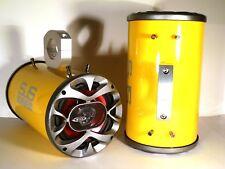 "1200 Watt BOSS Boat Wakeboard Tower Speakers ""Metallic Yellow"" - SJS Dezign UTV"