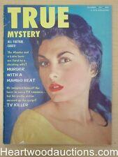 """""""True Mystery"""" December 1955"""
