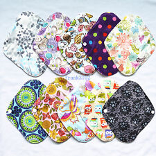 3 Overnight Bamboo Reusable Washable Cloth Mama Menstrual Pads XL 14in
