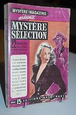 Mystère-Magazine 22 Nouvelles policières et Mystérieuses série 15 OPTA 1952