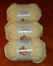 Bernat Baby Blanket Yarn Lot Of 3 Skeins (Yellow #03615) 3.5 oz. Skeins