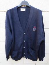Gilet HUGO BOSS marine pure laine wool jacket F 44 D 50