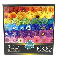New Buffalo 1000 Piece Puzzle Vivid Collection BLOOMS OF COLOR Sealed