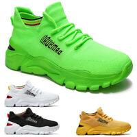 Damen Herren Stricken Sportschuhe Sneaker Turnschuhe Laufschuhe Freizeit Schuhe