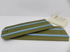 GENUINE USSR SOVIET ISSUED MILITARY ARMY OFFICER UNIFORM SHOULDER BOARDS
