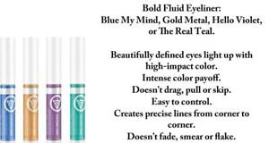 Mary Kay At Play Bold Fluid Eyeliner, Blue, Gold, Green, or Purple