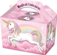 10 Magical Unicorn Boxes - Toy Loot/Party Bag Fillers Wedding/Kids Food Meal