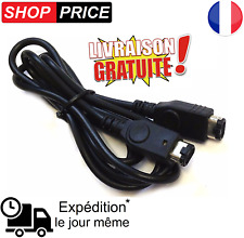 Cable link pour Game Boy Advance et Game boy Advance SP (GBA liaison) NEUF