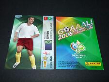 MICHAEL OWEN ENGLAND PANINI CARD FOOTBALL GERMANY 2006 WM FIFA WORLD CUP