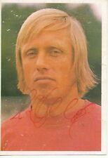 Peter Berg Kickers Offenbach 1973-74 Bergmann Sammelbild Original Sign+A 58453