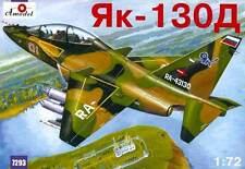 Yakovlev Yak-130D Russian modern trainer aircraft  1/72 Amodel 7293