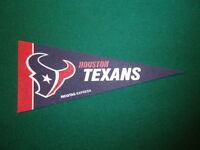 HOUSTON TEXANS NFL LICENSED MINI PENNANT, NEW