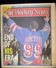 1999 May 9 Hockey News Gretzky Retirement Tribute Issue