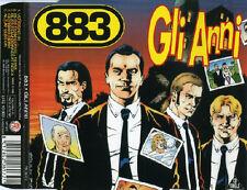 883 GLI ANNI cd maxi single remix (5 tracce) RARO FRI 1996 perfetto NM near mint