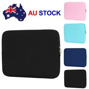 Black Laptop Sleeve Soft Bag Case For Macbook Laptop AIR PRO Retina Cover Bag E