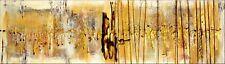 Unikat Acryl Bild 40 x 140  Kunst Abstraktes Gemälde Handarbeit  Art Nr 1180