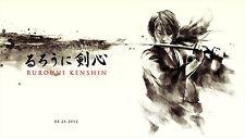 "Rurouni Kenshin Poster Himura Movie Silk Posters Prints 42x24"" RK18"