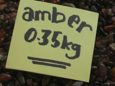 Baltic Amber Beads  0.35kg Natural Old Amber Drilled, Mixed Colours Bernstein