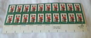 Scott No. 1472 - Christmas Santa Stamp Block Of 20