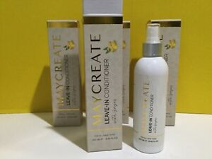 MayCreate Leave In Conditioner With Ginger For All Hair Types Set 4 Pcs 8.45.fl