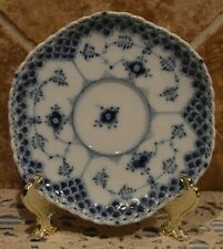 Royal Copenhagen Blue Fluted Saucer~Looks Great On Wall With Other Plates~Euc!