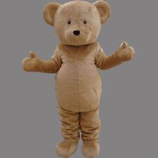 Teddy Bear Adult Mascot Costume Fancy dress For Festivals birthday party