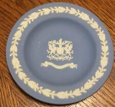 Vintage Wedgwood Jasperware 4 3/8� Dish Tray City Of London Coat Of Arms