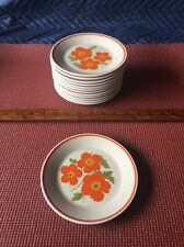 """Lenox TemperWare (1) 6 1/4"""" Fire Flower Bread & Butter Plates in Good Condition"""