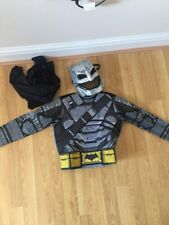 Boy's Costume Batman Face Mask and Top With Cape Great For Halloween