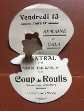 Programme Flyer COUP DE ROULIS Jean De La Cour MAX DEARLY Edith Manet 1932