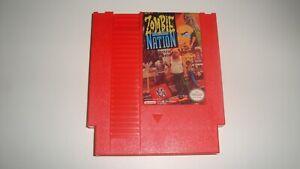 Zimbie nation (NES Game Cartridge 72 Pins) Cart Only Replic