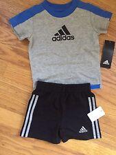 Adidas Baby Boy 3 M Shortset NWT Free Shipping
