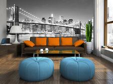 Gigante Mural de Pared Foto Wallpaper Puente De Brooklyn NY Nueva York decoración de la sala de estar