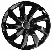 4 x Radkappen STIG Schwarz Black 17