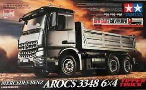 TAMIYA 56361 1:14 MB Arocs 3348 Rot/Silber Kipper RC-Truck NEU/OVP! LKW 6x4