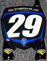 Christian Craig #29 Star Racing Yamaha Supercross Replica Front Number Plate