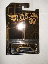 HOTWHEELS 50TH 67 CAMARO NEW 2018 GOLD CHASE IN PROTECTOR MINT ON CARD