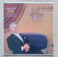 Rubinstein VINYL LP CHOPIN Valses,