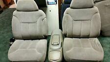 CHEVY SILVERADO TRUCK PICK UP SUBURBAN TAHOE BUCKET SEATS WITH CONSOLE MANUAL