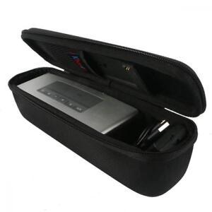 Khanka Bose Soundlink Mini 2 Tragetasche Reißverschluss 25,5 x 6 x 7 cm Schwarz