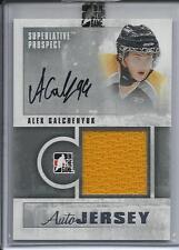 12-13 ITG Superlative Prospect Jerseys Autographs Silver #PAJAG Alex Galchenyuk